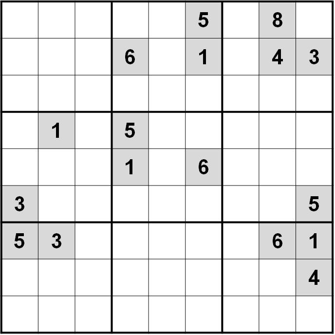 Sudoku impossible by Norvig